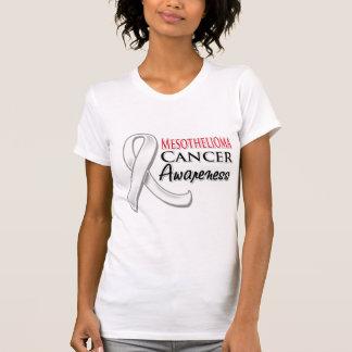 Mesothelioma Awareness Ribbon Tee Shirts