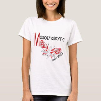 Mesothelioma Butterfly 3.1 T-Shirt