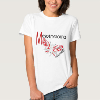 Mesothelioma Butterfly 3.1 Tshirt