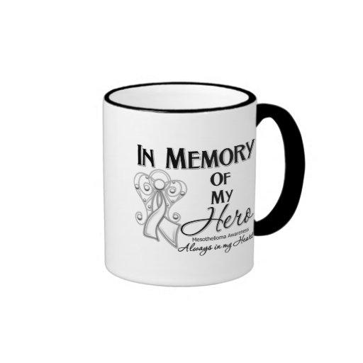 Mesothelioma Cancer In Memory of My Hero Coffee Mug