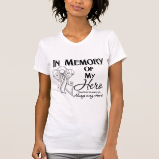 Mesothelioma Cancer In Memory of My Hero T Shirt