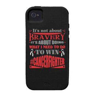 Mesothelioma Cancer Not About Bravery Vibe iPhone 4 Cover
