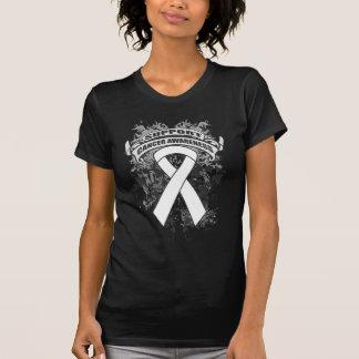 Mesothelioma - Cool Support Awareness Slogan Tee Shirts