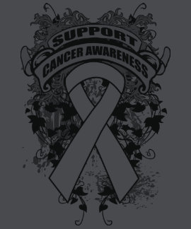 Mesothelioma - Cool Support Awareness Slogan Tshirt