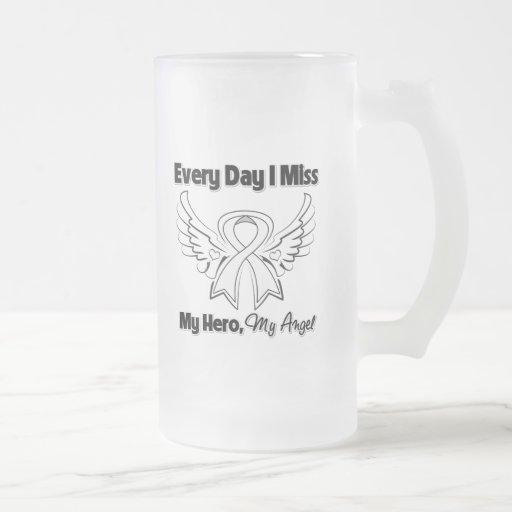 Mesothelioma Every Day I Miss My Hero Coffee Mug