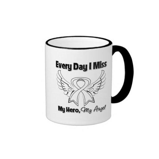 Mesothelioma Every Day I Miss My Hero Mugs