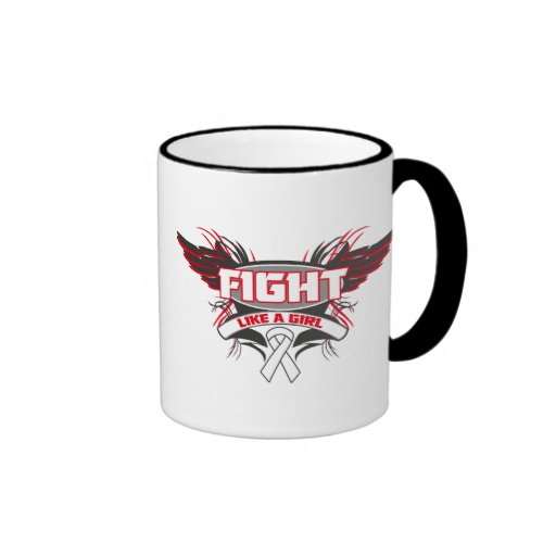 Mesothelioma Fight Like a Girl Wings.png Mug