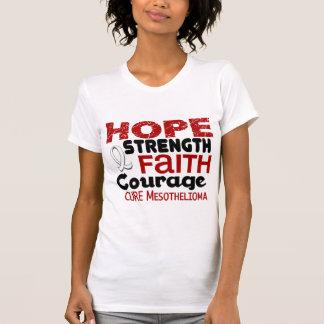 Mesothelioma HOPE 3 Tee Shirts