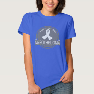 Mesothelioma Hope Fight Cure Logo T-shirt