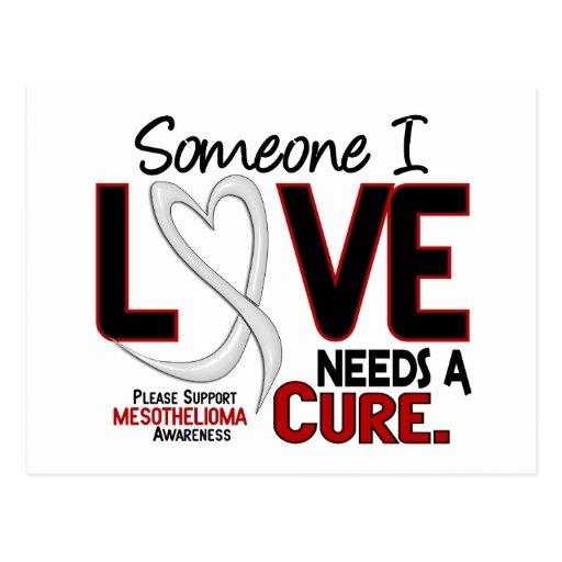 Mesothelioma NEEDS A CURE 2 Postcard