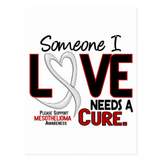 Mesothelioma NEEDS A CURE 2 Postcard
