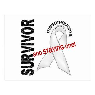 Mesothelioma Survivor Postcard