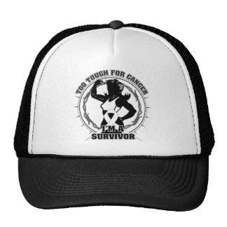 Mesothelioma Too Tough For Cancer Trucker Hat