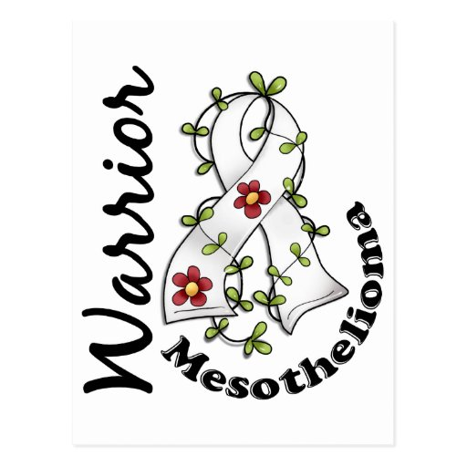 Mesothelioma Warrior 15 Postcards
