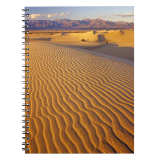 Mesquite Flat Sand dunes in Death Valley Notebook