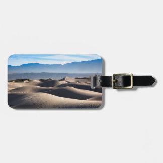 Mesquite Flat Sand Dunes Luggage Tag