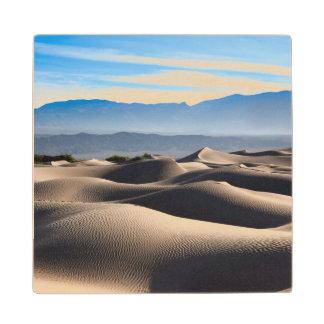 Mesquite Flat Sand Dunes Maple Wood Coaster