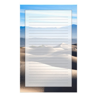 Mesquite Flat Sand Dunes Stationery