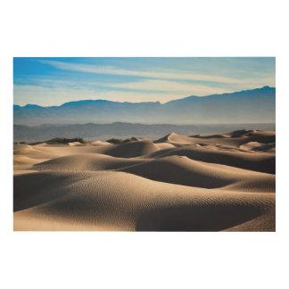 Mesquite Flat Sand Dunes Wood Wall Art
