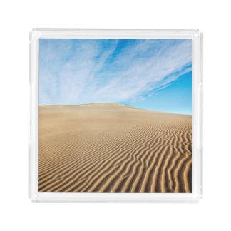 Mesquite Flats Sand Dunes Acrylic Tray