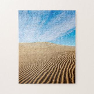 Mesquite Flats Sand Dunes Jigsaw Puzzle