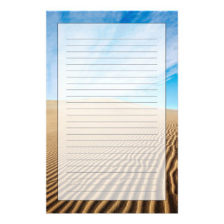 Mesquite Flats Sand Dunes Stationery