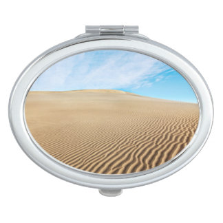 Mesquite Flats Sand Dunes Travel Mirrors