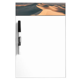 Mesquite Sand Dunes in Death Valley Dry Erase Board