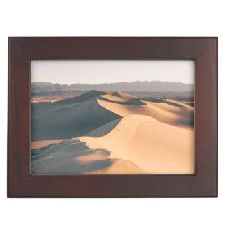 Mesquite Sand Dunes in Death Valley Keepsake Box