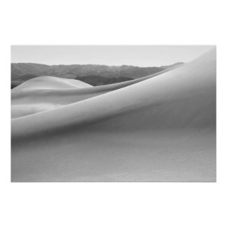 Mesquite Sand Dunes in Death Valley Posters