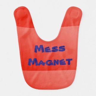 Mess Magnet Baby Bib