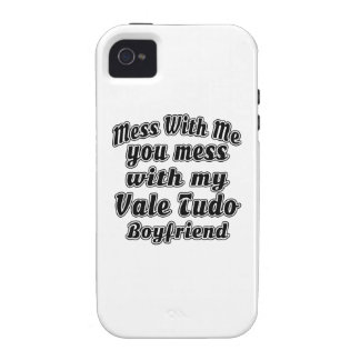 Mess With Me You Mess With My Vale Tudo Vibe iPhone 4 Cases