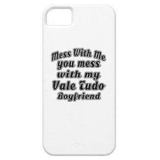 Mess With Me You Mess With My Vale Tudo iPhone 5 Cover