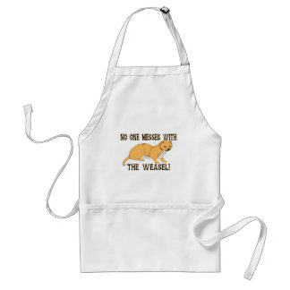 Mess With The Weasel Standard Apron