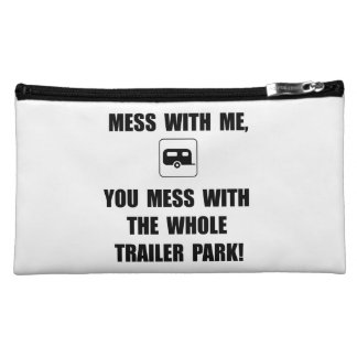 Mess With Trailer Cosmetic Bag