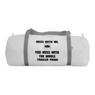 Mess With Trailer Gym Duffel Bag