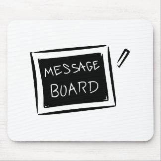 Message Board Chalkboard Mouse Pads