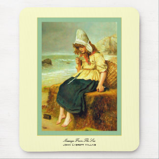 Message From The Sea John Everett Millais Mouse Pad