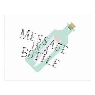 Message In A Bottle Postcard