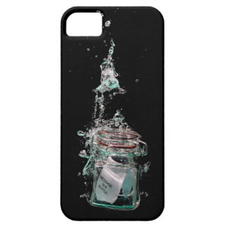 Message in a sinking bottle iPhone 5 cases