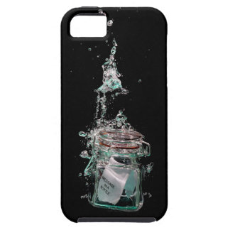 Message in a sinking bottle tough iPhone 5 case
