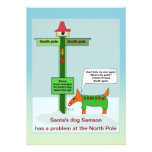 Message problem at the North Pole Personalised Announcements