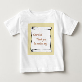 Message to God Baby T-Shirt