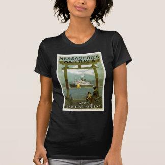 Messageries Maritimes Japon Extreme Orient T-Shirt