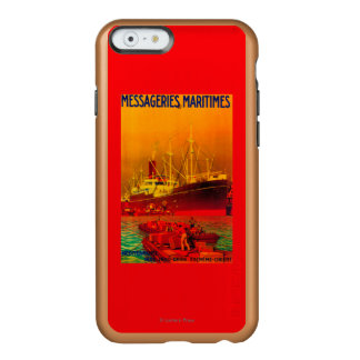 Messageries Maritimes Vintage PosterEurope Incipio Feather® Shine iPhone 6 Case