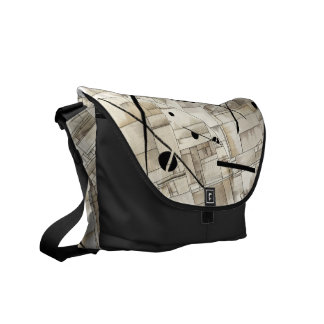 Messenger bag, abstract by DSM Courier Bag