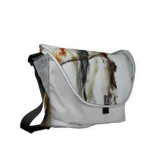 Messenger Bag - Abstract Oil Painting