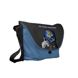 MESSENGER BAG- EARTH HANDS COMMUTER BAGS