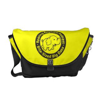 Messenger bag for extrovert Roaring Elephant fans