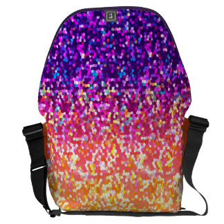 Messenger Bag Glitter Graphic